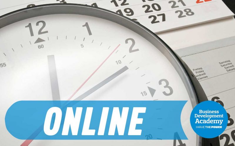 "[Online] Curso ""IHTP Time Management"""